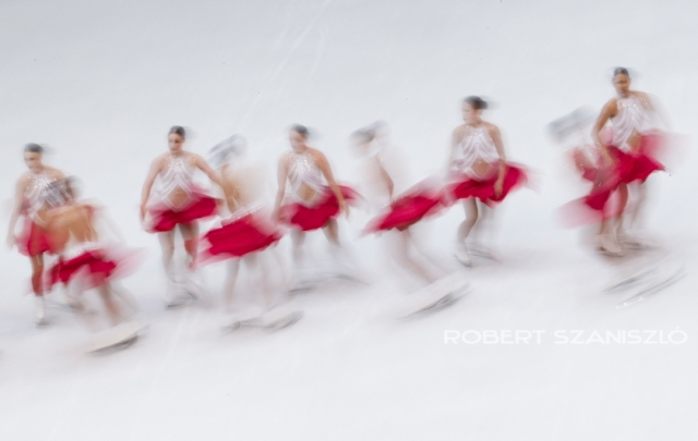 Fee program, ISU World Synchronized Skating Championships, Budapest, 2016 -  Photo: © Robert Szaniszló