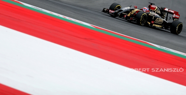 Romain Grosjean, Austrian F1 Grand Prix, Austria. 2014 -  Photo: © Robert Szaniszló