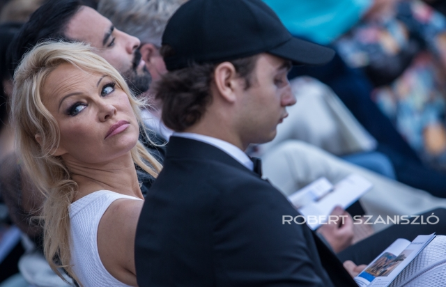Pamela Anderson, Amber Lounge Fashion Show, Monaco, 2019 -  Photo: © Robert Szaniszló