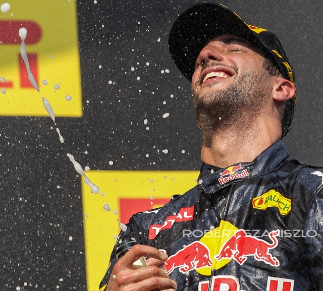 Daniel Ricciardo, Hungarian Formula One Grand Prix, Mogyoród, 2014 -  Photo: © Robert Szaniszló
